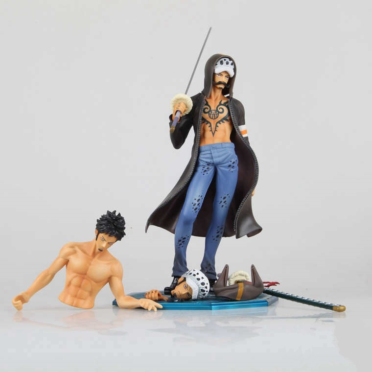 Anime One Piece Trafalgar Law After 2 Years PVC Action Figure Collection Model Toy 11 27CM free shipping 5 7cm japanese one piece after 2 years pvc action figure tea lunch collection model toy 9pcs per set