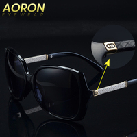 Luxury Brand Aoron Women Polarized UV400 Sunglasses For Women Driving Glass Female Original Famous Sun Glasses