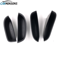 Carmonsons Door Handle Armrest Storage Box Container Holder Tray For Infiniti QX30 2017 Accessories Car Organizer