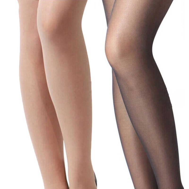 4226906ed59 2017 Fashion Sexy Womens Thin Lace Top Opaque Thigh High Stockings 15  Colors for Xmas-in Stockings from Underwear   Sleepwears on Aliexpress.com