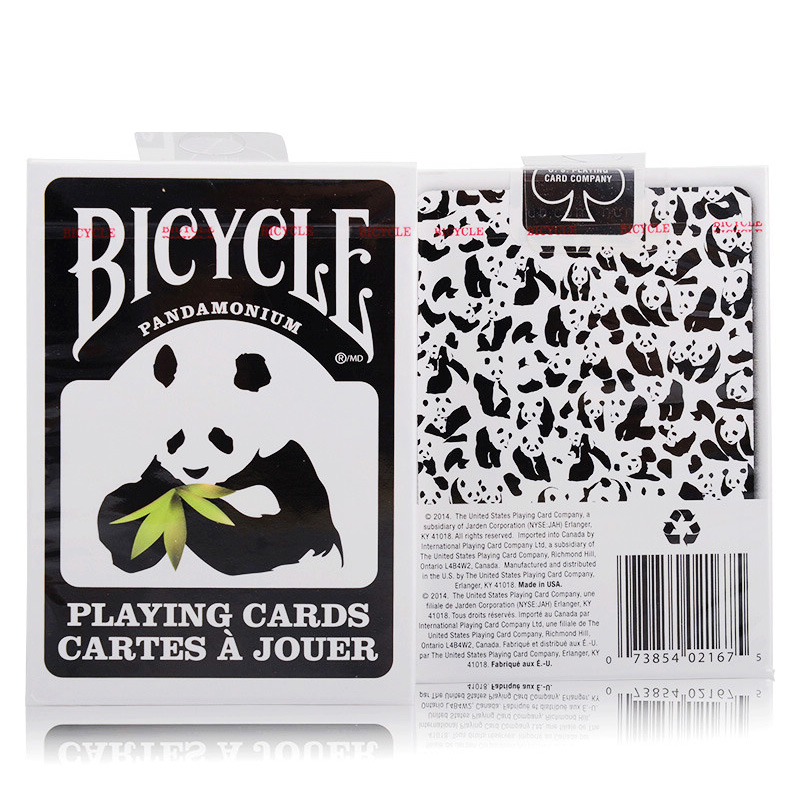 Bicycle Pandamonium Playing Cards Ellusionist Playing Cards Original Poker Cards for Magician Collection Card Game