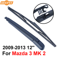 QEEPEI Rear Windscreen Wiper And Arm For Mazda 3 MK 2 2009 2013 12 5 Door