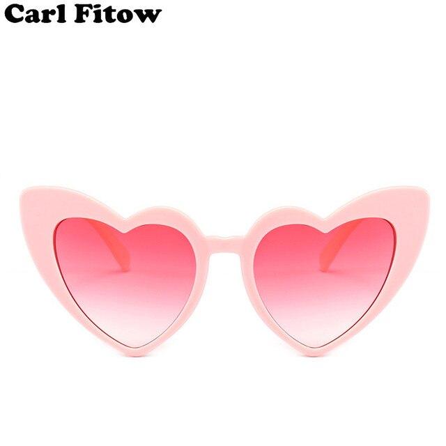 42af57277e8 Heart Sunglasses Women brand designer Cat Eye Sun Glasses Retro Love Heart  Shaped Glasses Ladies Shopping