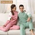 Pares del invierno Par Pijama de servicio a domicilio Para Las Mujeres/de Los Hombres/Mujer Adultos Pijamas de Dormir Caliente