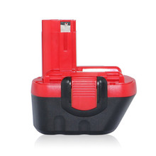 цена на 12V  3.0Ah NI-MH rechargeable battery pack 3000mah replace for BOSCH cordless Electric drill and screwdriver power tools battery