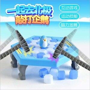 Image 3 - ילדים צעצועי הכה קרח פינגווין קרח בלוק ילדי הורות לוח משחק לחסוך פינגווין הורה לילד אינטראקטיבי צעצועים חינוכיים