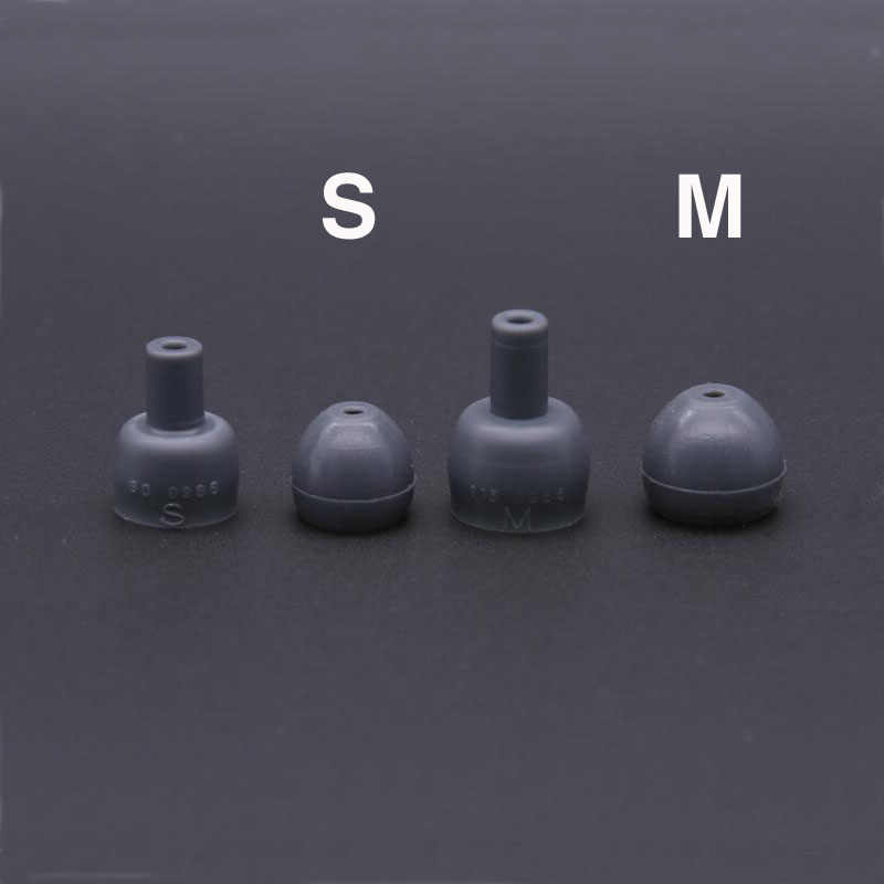 Eartips for Shure Etymotic Earphone Silicone In-Ear covers Earbud Ear pads caps Tips Earbuds Earplug cushion 4pcs/2pairs