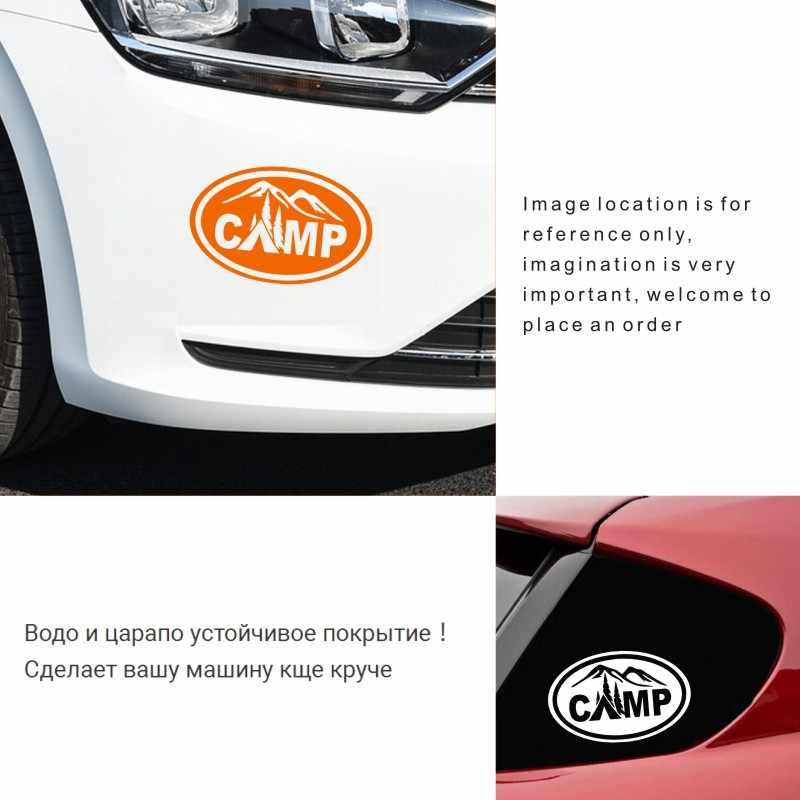 車のステッカー 15 センチメートル * 10 センチメートルキャンピングカーキャンプ車オートバイデコレーション 3D 反射カースタイリングカスタムステッカー