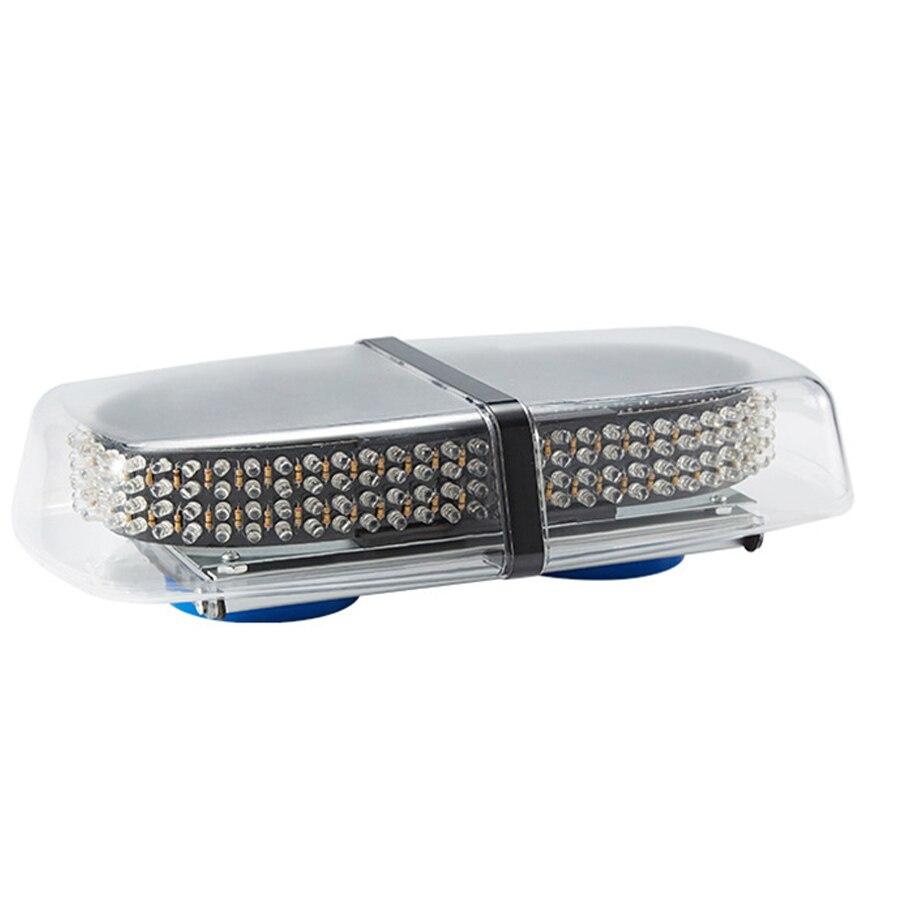 High Power 240 LED Car Roof Flashing Warning light Magnet Police LED Emergency Flare Vehicle Light bar 12V LED Police Light Bar