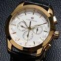2016 новый люксовый бренд FORSINING кожаный ремешок механические наручные часы мужская рубашка бизнес часы подарок W181903