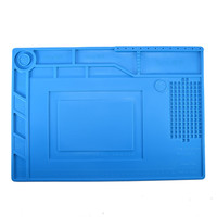 S 150 Heat Insulation Silicone Repair Station With Magnetic Pad Desk Mat Maintenance Platform For Mobile
