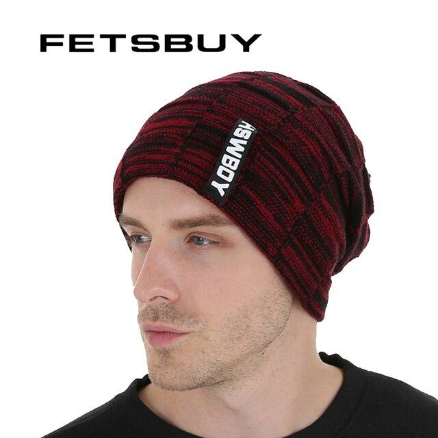 d8832e06786 FETSBUY Brand New Autumn Cap And Warmer Winter Bonnets Beanie Hat For Men  Women Skullies Keep
