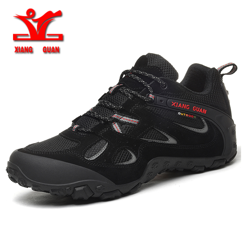 Xiangguan 2018 summer Hiking Shoes for men Outdoor sports shoes Breathable Mesh Unisex Shoes Slip resistant