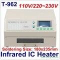 Autorizado PUHUI T-962 Infrarrojos Calentador IC T962 Reflujo Horno De Soldadura BGA Estación de Retrabajo SMD SMT T 962 de Reflujo Wave Oven