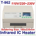PUHUI Authorized T-962 Infrared IC Heater T962 Reflow Solder Oven BGA SMD SMT Rework Station T 962 Reflow Wave Oven