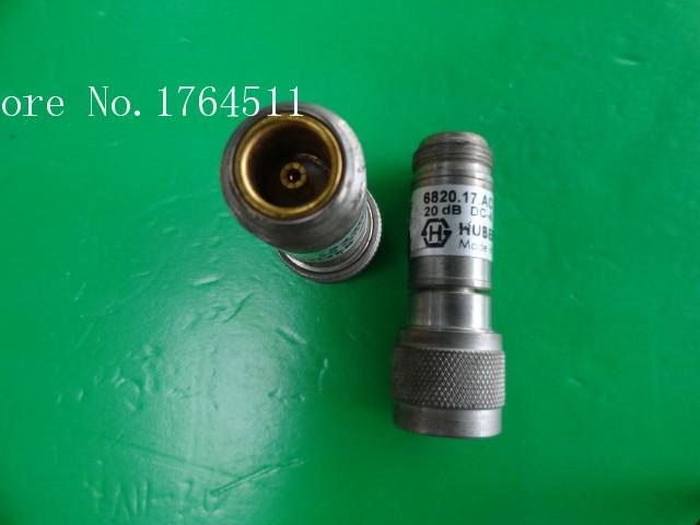 [BELLA] H+S 6820.17.AC DC-4GHz Att:20dB 2W N Coaxial Fixed Attenuator