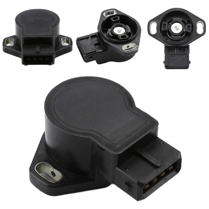 US $18 54 15% OFF|1x Black Car Engine TPS Throttle Position Sensor TH142  TPS328 5S5107 MD614488 MD614662 fits for Hyundai Sonata 1993 1998-in  Throttle