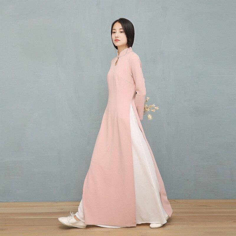 Hermosa Vestido De Boda Tradicional Vietnamita Cresta - Ideas de ...
