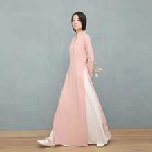 2018 new asian traditional clothing qipao vietnam ao dai dresses for women Women Chinese Traditional Dress