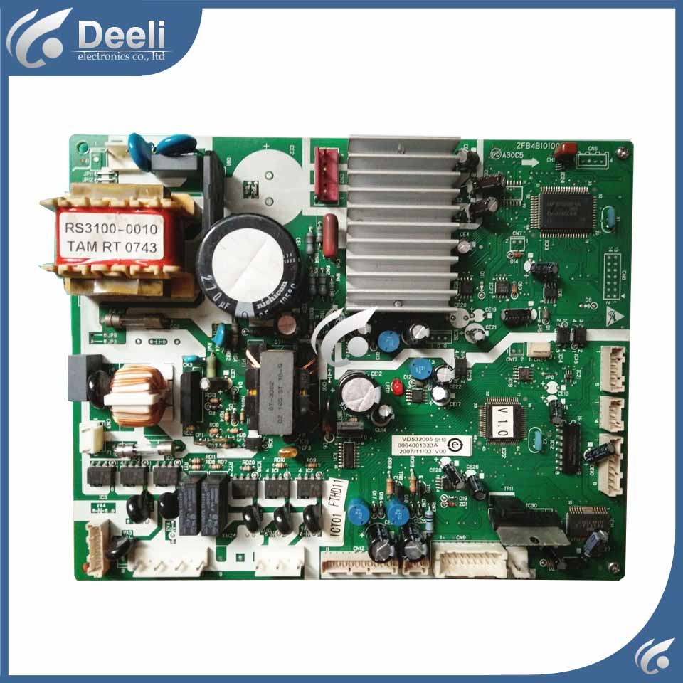 90% new good working for refrigerator board pc board motherboard 0061800008 bcd 331w bcd 301wd