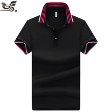 XIYOUNIAO plus size M~5XL Solid color Mens POLO Shirts Brand Cotton Sh