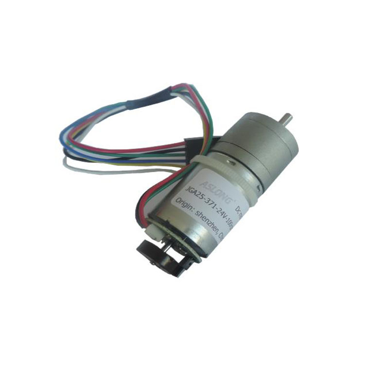 JGA25-371 Geared <font><b>Motor</b></font> with <font><b>Encoder</b></font> Speed Dial <font><b>Motor</b></font>, DC <font><b>Gear</b></font> <font><b>Motor</b></font> <font><b>12V</b></font> image