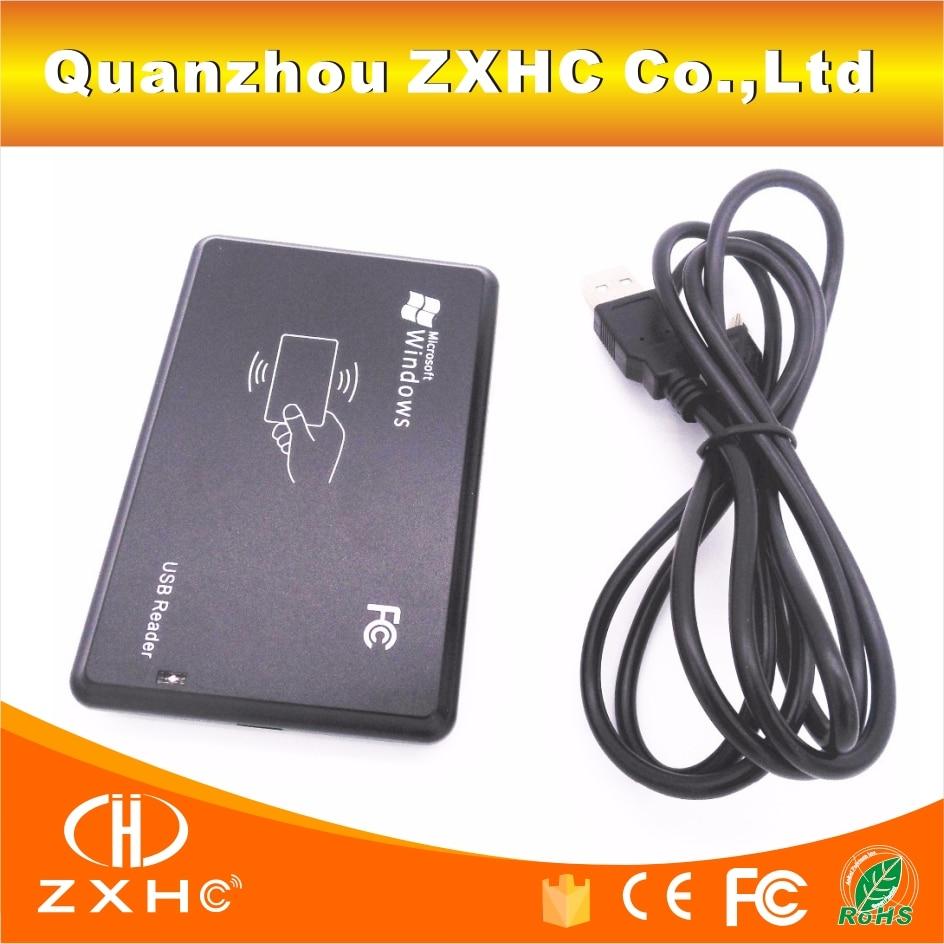Leitor decimal USB de cartão de identificação RFID 125KHz TK4100 (EM4100)