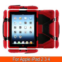 3 In 1 Hybrid Plastic Silicon Heavy Duty Shockproof Dual Layer Rugged Military Armor Back Cover
