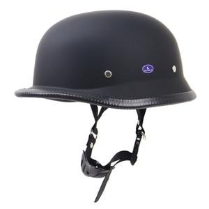 Image 5 - Dot Half Face Retro Motorcycle Helmet Retro Helmet Helmet Waterproof Helmet