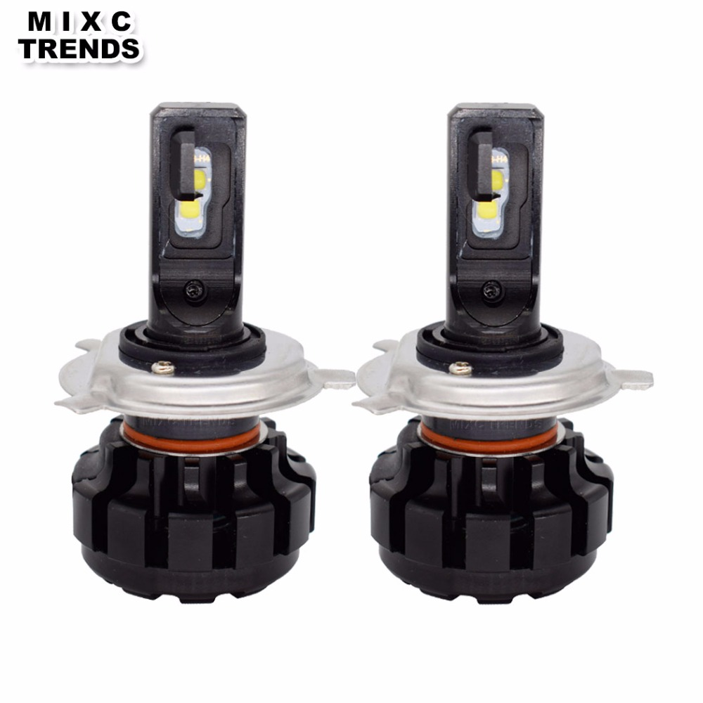 MIXC TRNEDS Mini Size V1 LED Car Headlight H4 LED H7 H1 H3 9005 9006 H11 9012 Auto Headlamp Bulb 12V 6000K Spotlight led bulbs h1 h3 h7 h11 880 9005 9006 h4 cob led car headlight bulbs auto led headlamp 6000k fog lights drl auto headlamp 12v 24v