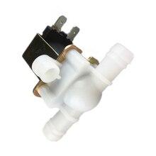 1 шт. Соленоидный клапан водяной клапан 10 мм 12 В 220 В Пластиковый водяной клапан