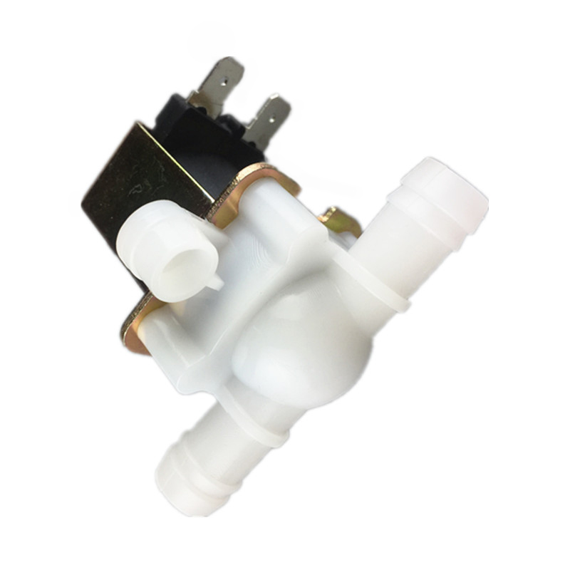 Free shipping 1pcs new Solenoid valve water valve 10mm 12V 220V Plastic water valve free shipping mj h50 plastic float valve toilet flush valve