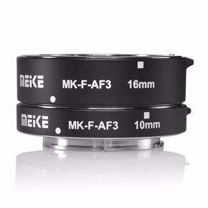 Image 4 - Meike MK F AF3 Metall Auto Focus Macro Extension Tube 10mm 16mm für FUJIFILM X Pro2 XT1 XA1 XA2 X70 XE1 X30 X70 XM1 XM10 X Pro1
