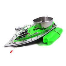New Flytec 2011-3 RC Boat Intelligent Wireless Electric RC Fishing Bait Boat Remote Control Fish Finder Ship Searchlight RC Toys