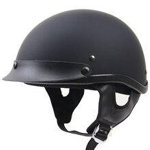 Uni Секс Пол-Лица мотоциклетный шлем DD пряжки велосипед чоппер шлем dot одобрил moto шлем sml xl xxl доступны
