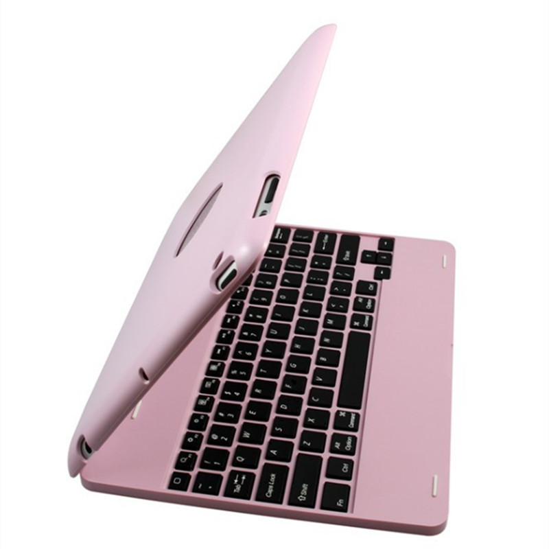 Wireless Bluetooth Keyboard for iPad 2 3 4 Case Cover Protective Portable Keyboard Case for iPad 4 3 2 Stand Luxury Smart Case protective silicone case w stand for ipad 2 3 4 white pink