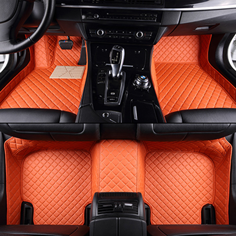 Custom car floor mats for geely All Models emgrand EC715 EC718 EC7 EC8 turnkey car accessorie car styling floor mat custom car floor mats for isuzu all models same structure interior car accessorie car styling floor mat