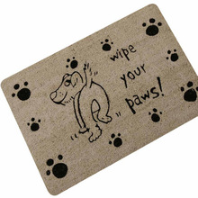 Cute Naughty Dog Cat Entrance Doormat Home Decorative Door Mats Funny Welcome Floor Front Porch Rugs Foot Pad TapeteGYR13