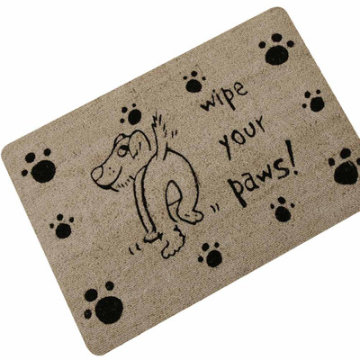 Cute Naughty Dog Cat Entrance Doormat Home Decorative Door Mats Funny Welcome Floor Mats Front Porch Rugs Foot Pad TapeteGYR13
