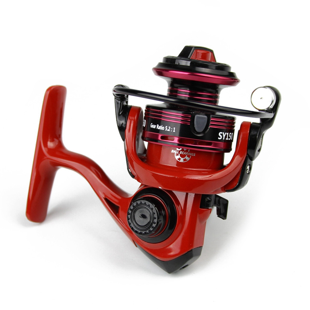 Best Cheap Mini fishing spinning reel bearing 5+1 BB winter ice carp sea spinning fishing reels china molinete para pesca  (6)