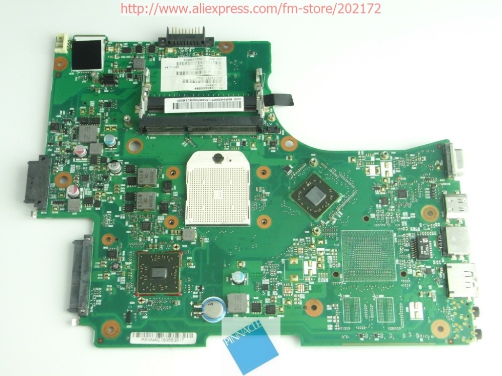 V000218060 Motherboard for Toshiba Satellite L650D L655D 6050A2333201 for toshiba satellite l655d l650d laptop motherboard integrated a000076380 da0bl7mb6d0
