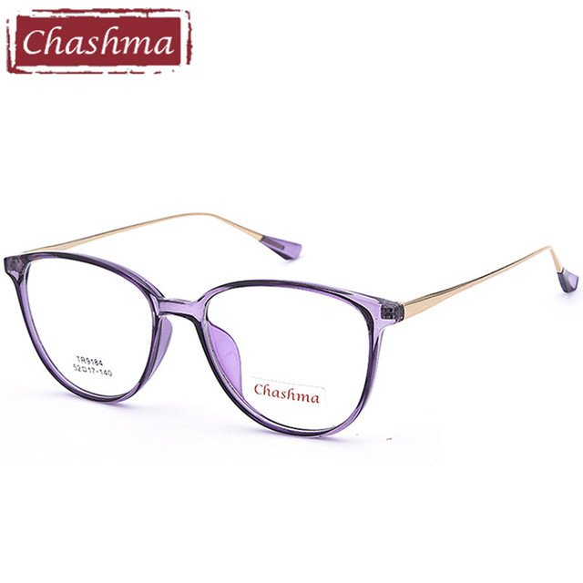 25894610851 Chashma Brand TR 90 Flexible Light Eyeglasses Cat Eye armacao para oculos  de grau feminino Women s Glasses Transparent