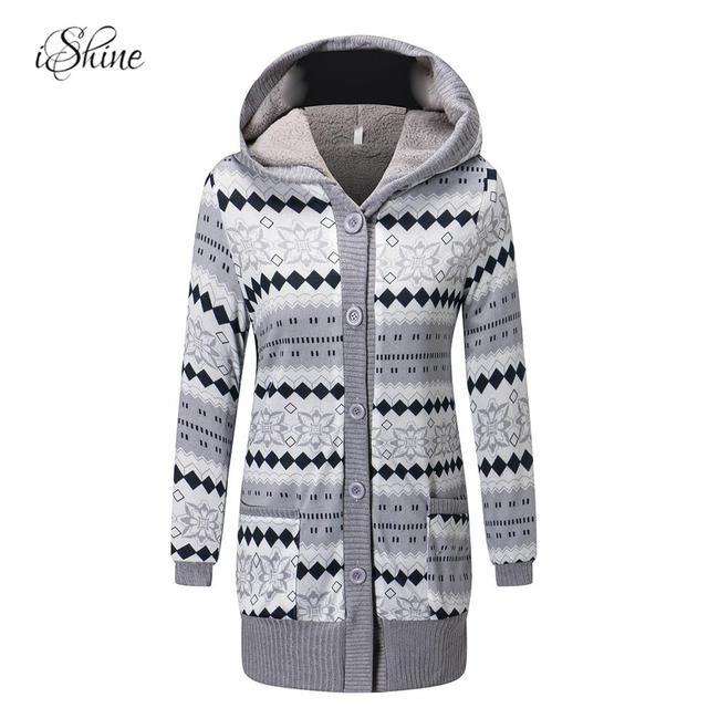 Lange Sweat Trui.2018 Fleece Uitloper Winter Herfst Lange Mouwen Thicken Warm Hooded
