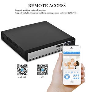 Image 2 - Gadinan 8CH/4CH 5MP 1080 1080p 48 v poe 顔検出 nvr オーディオアウト監視セキュリティ P2P ビデオレコーダー poe cctv システム