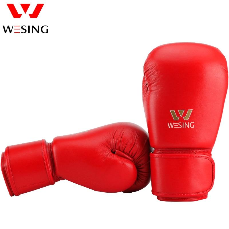 AIBA aprobó guantes de boxeo 10 oz 12 oz hihg quanlity micro guantes - Ropa deportiva y accesorios - foto 2
