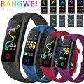 LIGE женские Смарт-часы для мужчин IP68 водонепроницаемый спортивный фитнес-трекер Многофункциональный светодиодный цветной сенсорный смарт-...