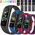 LUIK Vrouwen Slimme Horloge Mannen IP68 Waterdichte Sport Fitness tracker Multifunctionele LED Kleur Touch Smart armband Montre homm + Box