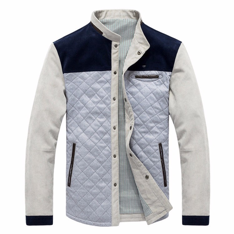 Men\'s Jackets and Coats Ouerwear Casual Patchwork Plus Size Slim Fit 2016 Brand New Cotton Polyester High Quality Men Jacket2