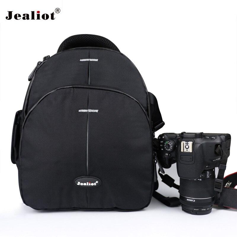 Jealiot DSLR Appareil Photo REFLEX Sac À Dos Vidéo Photo lens case sacs pour Nikon d3200 d3100 d5200 d7100 Compact Photo Numérique caméra