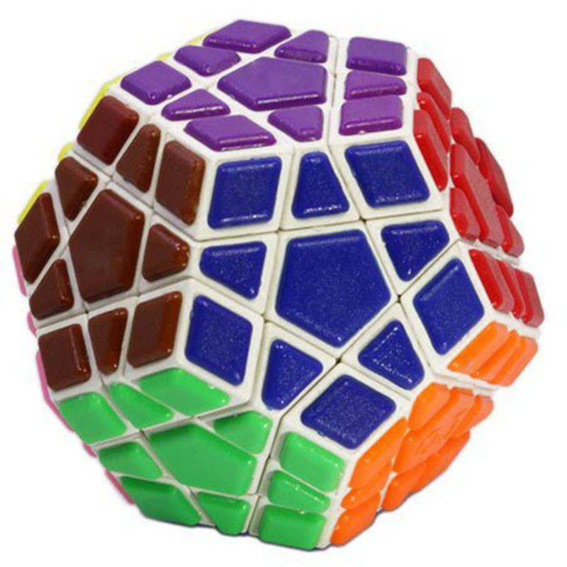 Brand New YJ Transparent Magic Cube 3x3x3 Speed Puzzle Cube Game Dot Shape Cubos Magicos Professional Puzzle Game Toys Gifts (6)